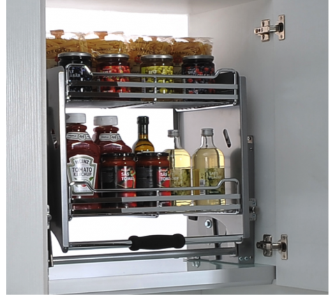 Pull-down Kitchen storage
